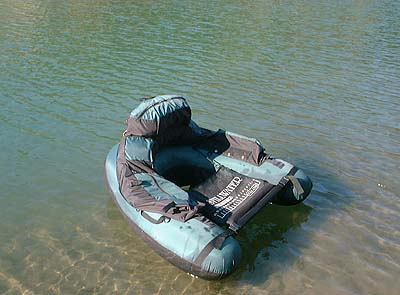 Float tube for Fly fishing float tube
