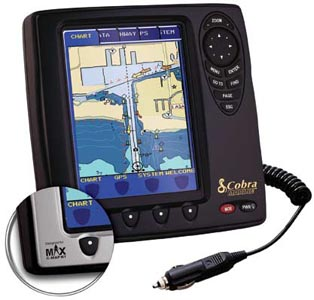 cobra electronics mc600cx mc 600ci marine gps chartplotter 3d map, Fish Finder