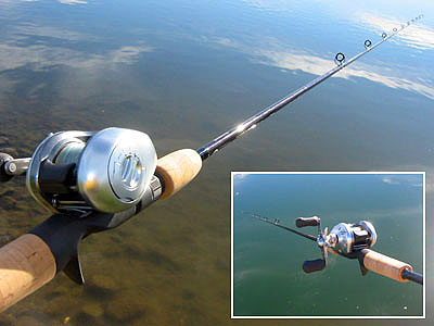fishing rod review - shimano crucial rod review, drop shot, bass, Reel Combo