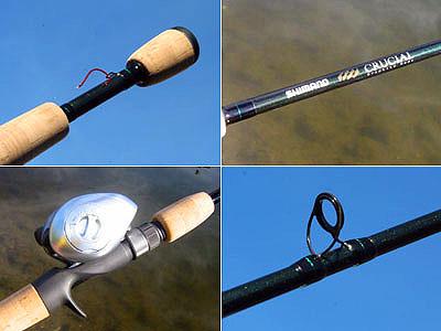 Fishing Rod Review - Shimano Crucial Rod Review, Drop Shot
