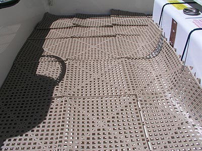 Dri Dek Flooring Review   Non Skid Flooring For Fishing Boats Bacteria  Fighting