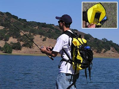Eureka! Dry Doc Review - Waterproof backpack dry bag fishing