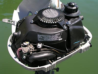 Honda Outboard Review - 4 Stroke 2HP Honda BF2D Outboard ...
