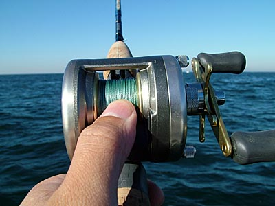 f42bbb4c400 Shimano Cardiff A Review CDF200A round reel bass rockcod jigging ...