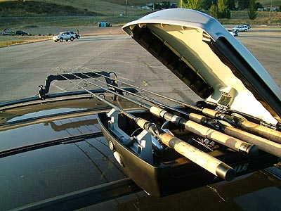 Vehicle Rod Carrier Review Thule Castaway Rod Carrier