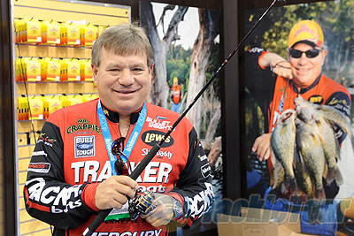 ICAST 2011 Coverage - Lews Wally Marshall Crappie reels and rods