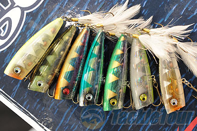 icast 2011 coverage - lobina lures rico clear series popper, Hard Baits