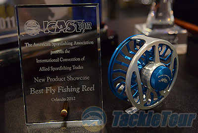 icast 2012 - wright & mcgill's new sabalos saltwater fly reel, Fishing Reels