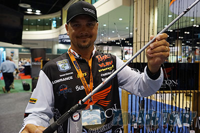 Icast 2014 coverage falcon lowrider 20 cara st and for Jason christie fishing