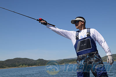 Fishing rod review 13 fishing archangel aac73mh casting rod for 13 fishing concept a review