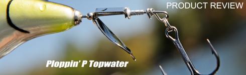 PH Custom Lures Wesley's Ploppin' P Topwater Plopper Bait