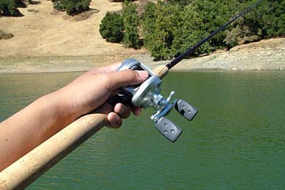Spent 2 hours practicing with baitcaster fishing rods for Best fishing line for bass baitcaster