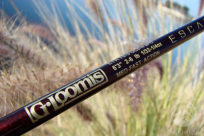 fishing rod review - g.loomis escape travel rods, Fishing Rod