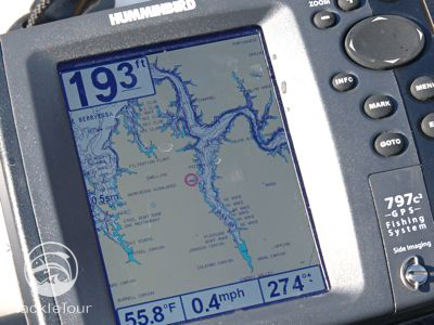 Thanks To Humminbirds Partnership With Navionics Map Detail Is Very Good