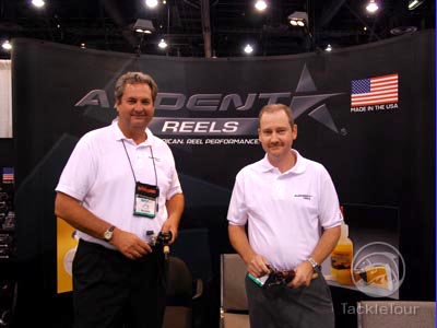 2007 ICAST Fishing Tackle Show Reels