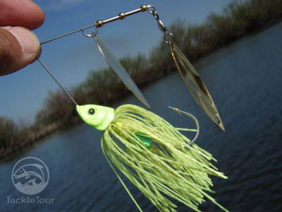 Persuader American Angling E-Chip EChip Spinnerbait